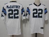 Mens Nfl Carolina Panthers #22 Christian Mccaffrey White Nike Game Jersey