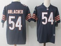 Mens Nfl Chicago Bears #54 Brian Urlacher Blue Vapor Untouchable Limited Player Jersey