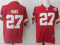 Mens Nfl Kansas City Chiefs #27 Kareem Hunt Red Vapor Untouchable Limited Player Jersey