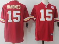 Mens Nfl Kansas City Chiefs #15 Patrick Mahomes Red Nike Game Jersey