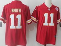 Mens Nfl Kansas City Chiefs #11 Alex Smith Red Vapor Untouchable Limited Player Jersey