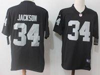 Mens Nfl Las Vegas Raiders #34 Bo Jackson Black Vapor Untouchable Limited Jersey