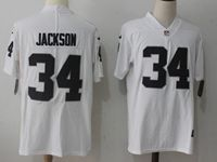 Mens Nfl Oakland Raiders #34 Bo Jackson White Vapor Untouchable Limited Jersey