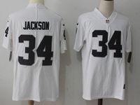 Mens Nfl Oakland Raiders #34 Bo Jackson White Vapor Untouchable Limited Jersey