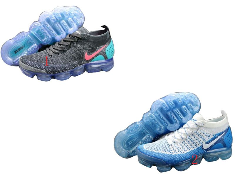 Womens Mens Nike Air Vapormax Flyknit 2018 Running Shoes 2 Colour