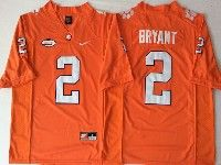 Mens Ncaa Nfl Clemson Tigers #2 Bryant Orange Limited Jersey