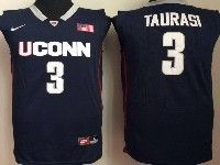 Mens Ncaa Nba Uconn Huskies #3 Taurasi Dark Blue Jersey