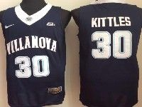 Mens Ncaa Nba Villanova Wildcats #30 Kittles Navy Blue Jersey