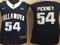 Mens Ncaa Nba Villanova Wildcats #54 Pickney Navy Blue Jersey