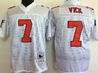 Mens Nfl Atlanta Falcons #7 Michael Vick Mitchell&ness Throwback Jersey