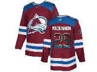 Mens Nhl Colorado Avalanche #29 Nathan Mackinnon Drift Fashion Home Red Adidas Jersey