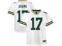 Mens Nfl Green Bay Packers #17 Davante Adams White Nike Game Jersey