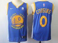 Mens Nba Golden State Warriors #0 Demarcus Cousins Nike Blue Swingman Jersey