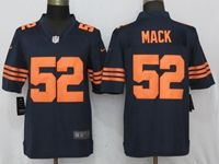 Mens Nfl Chicago Bears #52 Khalil Mack Blue Alternate Game Jersey
