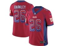 Mens Nfl New York Giants #26 Saquon Barkley Red Drift Fashion Vapor Untouchable Limited Jersey