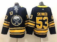 Mens Nhl Buffalo Sabres #53 Jeff Skinner Dark Blue Adidas Jersey