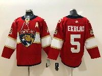 Mens Nhl Florida Panthers #5 Aaron Ekblad Red Adidas Jersey