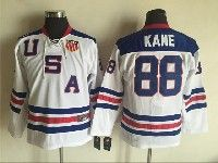 Mens Nhl Team Usa #88 Patrick Kane White Throwbacks Ccm Jersey