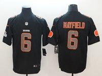 Mens Nfl Cleveland Browns #6 Baker Mayfield 2018 Fashion Impact Black Vapor Untouchable Limited Jersey