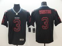 Mens Nfl Tampa Bay Buccaneers #3 Jameis Winston 2018 Lights Out Black Vapor Untouchable Limited Jersey