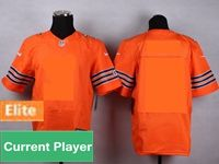 Mens Chicago Bears Orange Elite Current Player Jersey