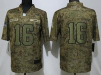 Mens Womens Nfl Los Angeles Rams #16 Jared Goff 2018 Camo Salute To Service Limited Jersey