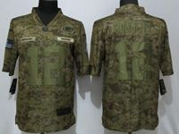 Mens Women Youth Nfl Green Bay Packers #12 Aaron Rodgers 2018 Camo Salute To Service Limited Jersey
