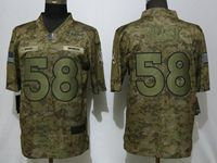 Mens Women Youth Nfl Denver Broncos #58 Von Miller 2018 Camo Salute To Service Limited Jersey