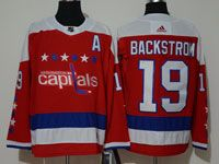 Mens Nhl Washington Capitals #19 Nicklas Backstrom Red Alternate Adidas Jersey