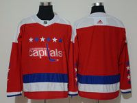 Mens Nhl Washington Capitals Blank Red Alternate Adidas Jersey