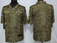 Mens Women Nfl Tampa Bay Buccaneers #3 Jameis Winston 2018 Camo Salute To Service Limited Jersey