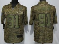 Mens Women Nfl Washington Redskins #91 Ryan Kerrigan 2018 Camo Salute To Service Limited Jersey
