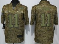 Mens Women Nfl Washington Redskins #11 Alex Smith 2018 Camo Salute To Service Limited Jersey