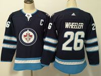 Women Youth Adidas Winnipeg Jets #26 Paul Stastny Blue Home Jersey