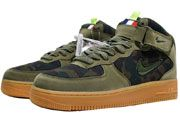 Men And Women Nike Air Force 1 Jewel Mid Boots Shoes 1 Colour