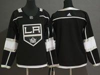 Womens Youth Adidas Los Angeles Kings Blank Black Home Jersey