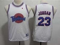 Youth Nba Space Jam Tune Squad #23 Michael Jordan White Jersey