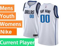 Mens Nba Dallas Mavericks Current Player White Swingman Nike Jersey