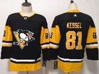 Youth Women Nhl Pittsburgh Penguins #81 Phil Kessel Black Adidas Jersey
