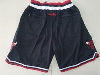 Mens Nba Chicago Bulls 1997-98 Black Nike Just Do Pocket Shorts