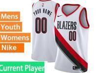 Mens Womens Youth Nba Portland Trail Blazers Current Player White Association Edition Nike Swingman Jersey