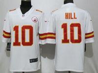 Mens Nfl Kansas City Chiefs #10 Tyreek Hill White 2017 Vapor Untouchable Limited Player Jersey