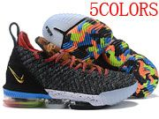 Men Nike Lebron 16 Basketball Shoes 5 Colours