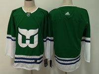 Mens Nhl Hartford Whalers Blank Green Adidas Jersey