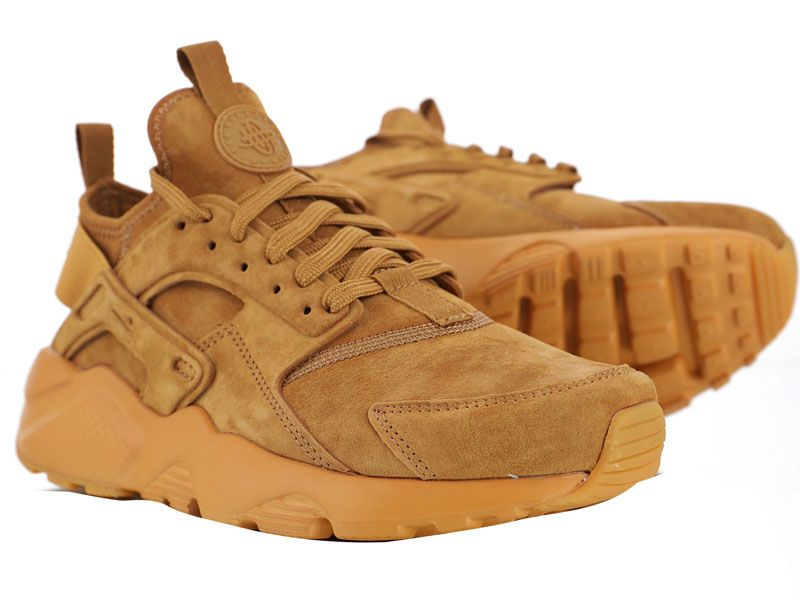 Men And Women Nike Air Huarache Ultra Suede Id Flax Running Shoes 1 Colour