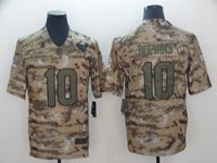 Mens Nfl Houston Texans #10 Deandre Hopkins 2018 Camo Salute To Service Limited Jersey
