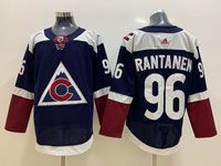 Mens Nhl Colorado Avalanche #96 Mikko Rantanen Alternate Dark Blue Adidas Jersey