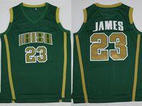 Mens Ncaa Nba Notre Dame Fighting Irish #23 Lebron James (irish) Olive Green Jersey