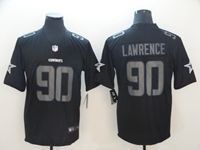 Mens Dallas Cowboys #90 Demarcus Lawrence Fashion Impact Black Vapor Untouchable Limited Jersey