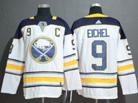 Mens Nhl Buffalo Sabres #9 Jack Eichel White Adidas Jersey